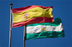 Andalucian and Spanish Flags