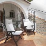 Patio outside the Avocado Room at Villa Andalucia