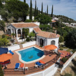 Aerial View of Villa Andalucia
