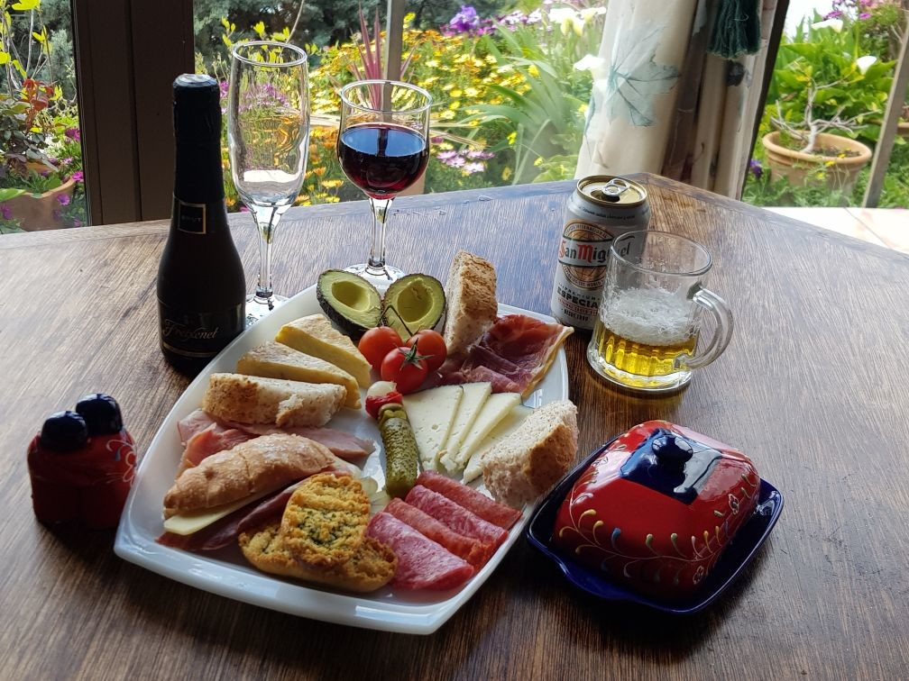 Welcome Platter at Villa Andalucia