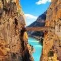 Old bridge at Caminito del Rey