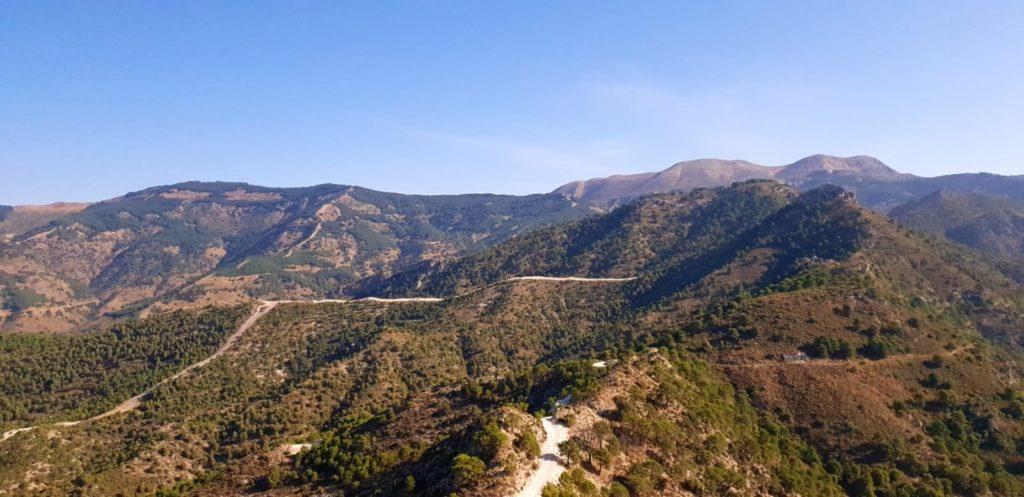 A walk in Sierra Almijara Mountains