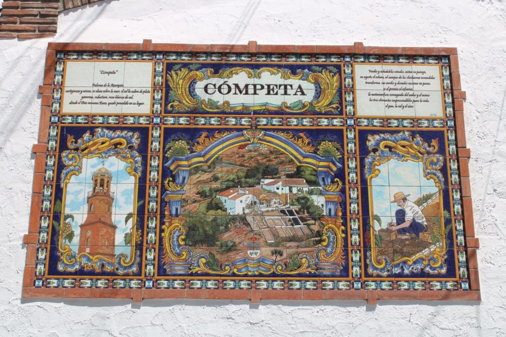 Competa-Route de Mosaics