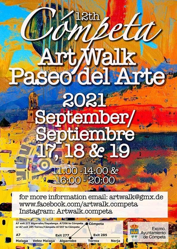 Cómpeta Art Walk